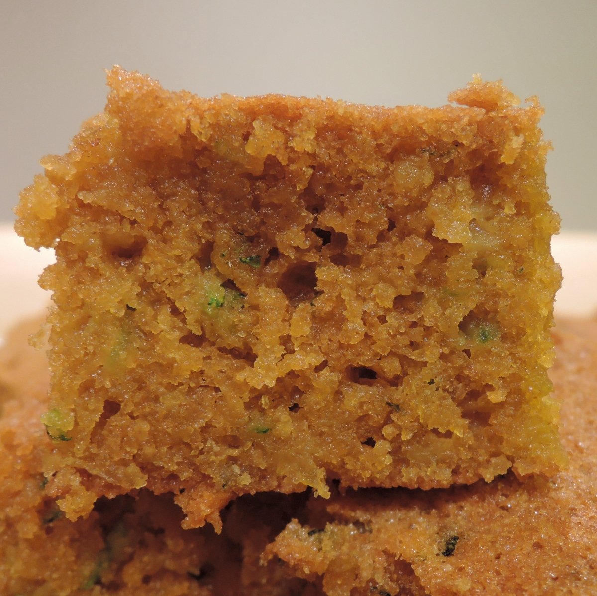 Whole Wheat Butterscotch Zucchini Blondies and a Fitness Blender Workout