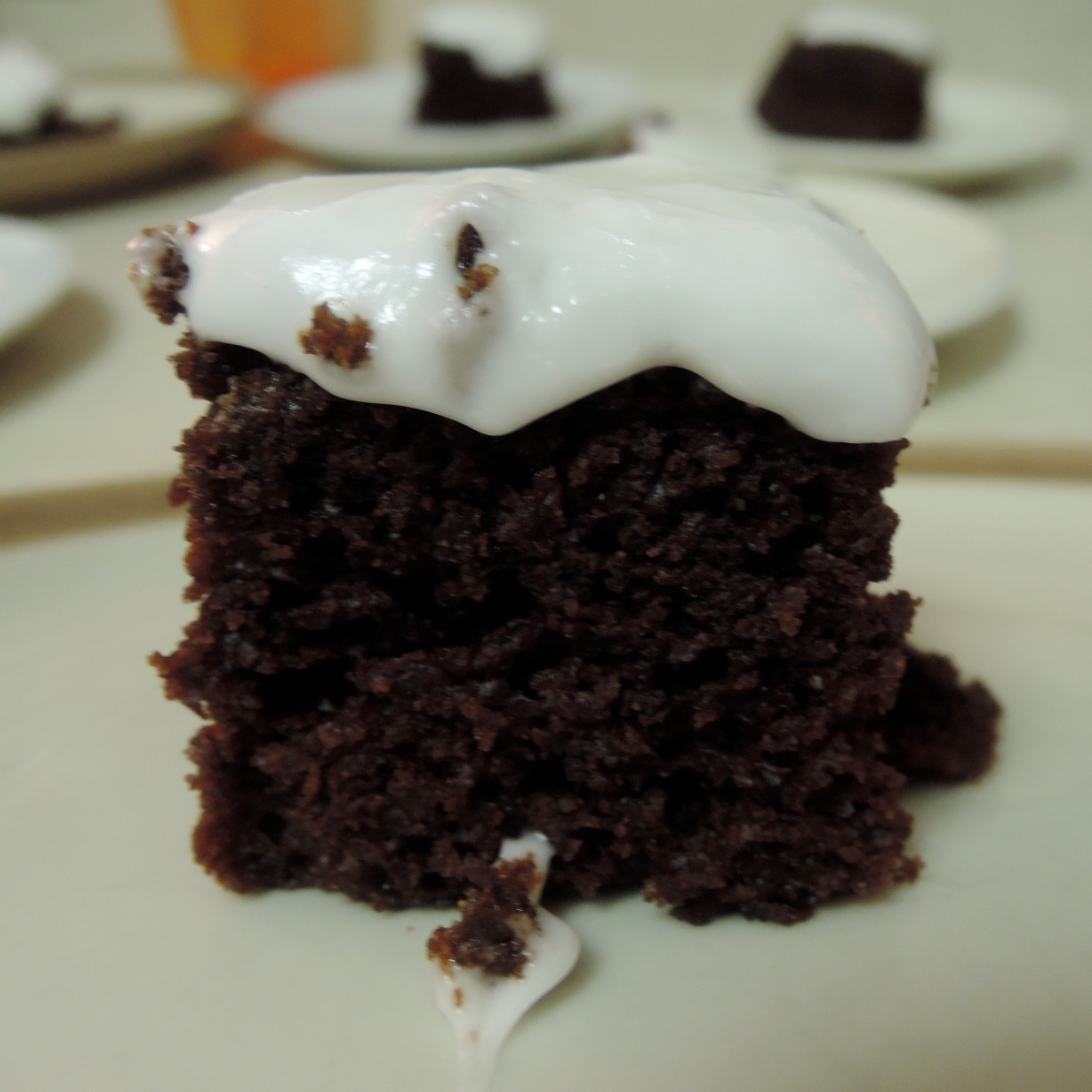 Peppermint Chocolate Cake (Eggless) with Peppermint Icing